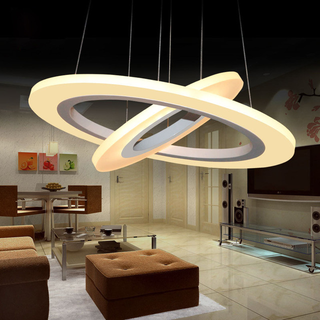 Aliexpresscom Buy Ring modern led pendant lights Circle