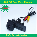 Handle trunk car rearview camera hd ccd glass lens material rainproof  for Skoda Roomster Fabia Octavia Yeti superb for Audi A1