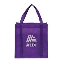 Индивидуальная сумка для покупок, Повседневная Сумка-тоут, сумка для покупок, фирменные рекламные сумки, Ручное шитье до дна