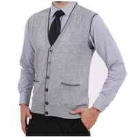 New Arrival Vest Cashmere Sweater Men Cardigan Vests Wool Vest Knitted Mens Cardigans Sleeveless