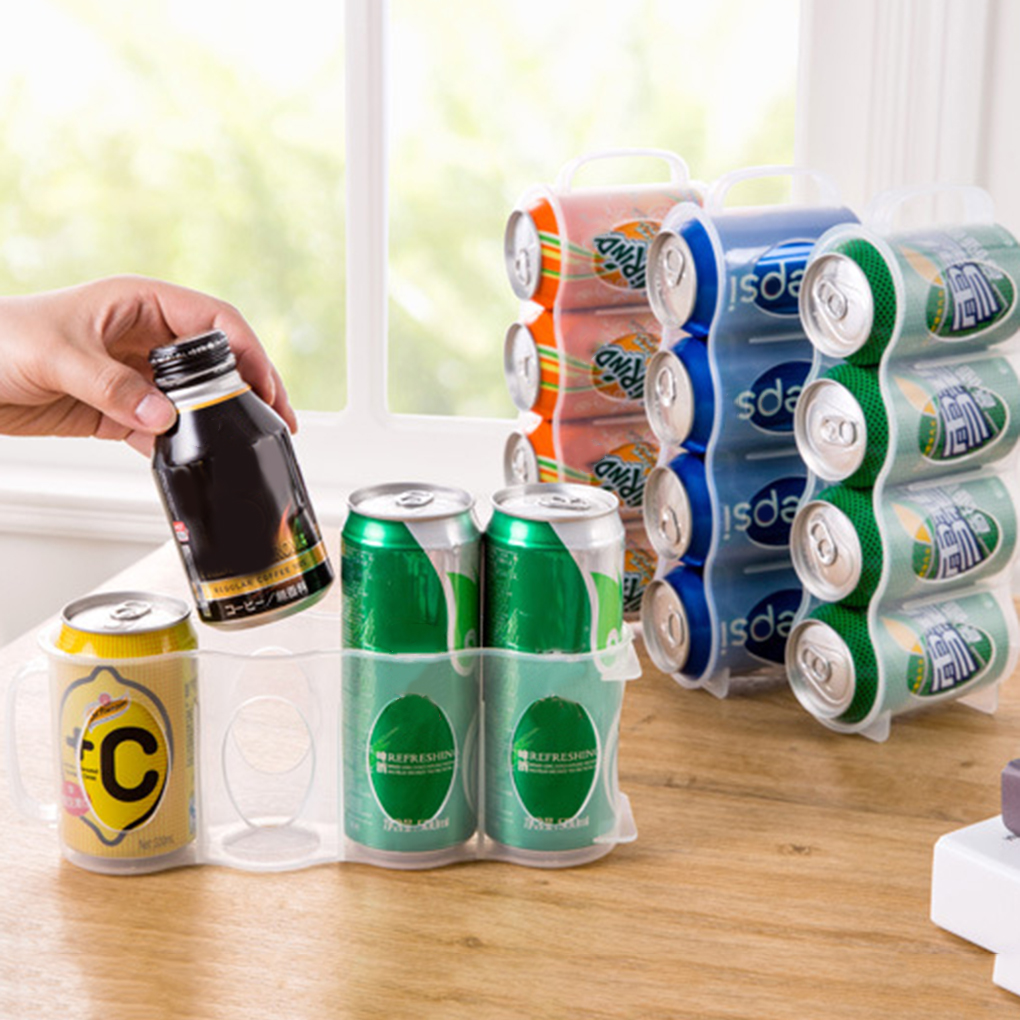Frame-Storage-Box Beverage Kitchen Space-Saving-Cans Finishing New
