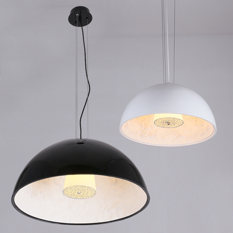 Image 3 - Modern Black White Gold Brown Resin Sky Garden Led Pendant Lights Dining Room Bedroom Pendant Lamp Hanging Light Fixtures-in Pendant Lights from Lights & Lighting