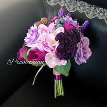 Wedding Luxury Bouquets Artificial Flower Bridesmaid Bridal Bouquet for BRIDE Marriage YT017