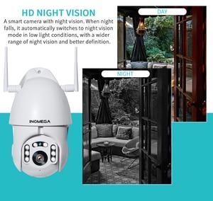 Image 4 - INQMEGA 1080P IP Camera WiFi  Wireless Auto tracking PTZ Speed Dome Camera Outdoor CCTV Security Surveillance Waterproof Camera