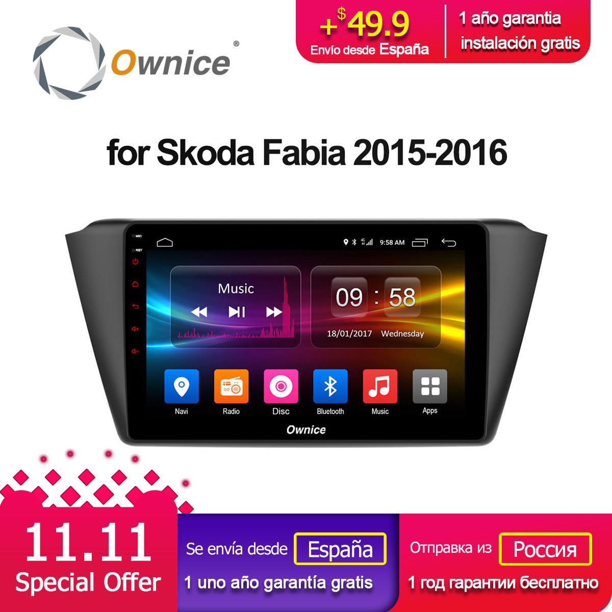 Ownice C500 G10 Octa 8 Core Andoid 8 1 Car radio player font b GPS b