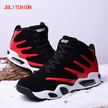 2018 Fashion Mens Casual Shoes Winter Sneakers Height Increasing Air Cushion Krasovki Comfortable Rubber Shoes for Adult Plush