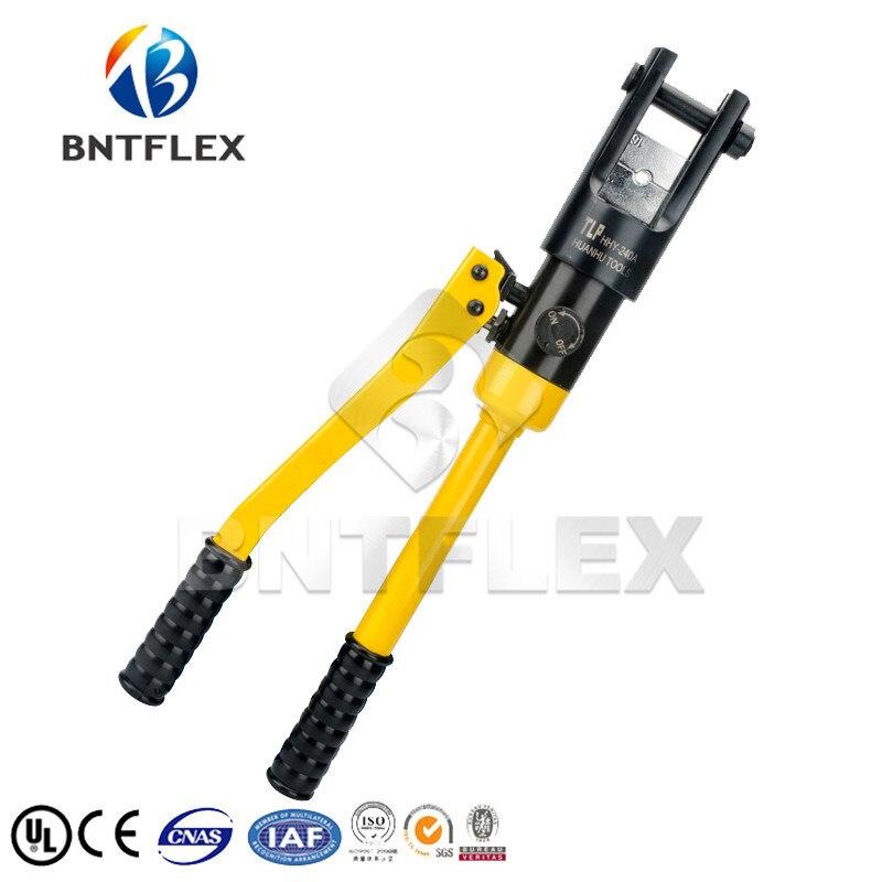 Hydraulic Crimping Tool 4-70mm2 Copper Aluminium Terminal ClampHydraulic Crimping Tool 4-70mm2 Copper Aluminium Terminal Clamp
