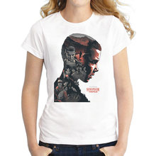eb10730f0 New Arrival T shirt women Stranger Things Design Ladies t-shirts Looking  for the Upside