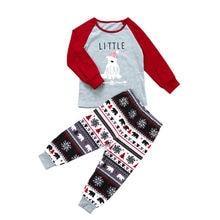 Family Christmas Polar Bear Pajamas Set
