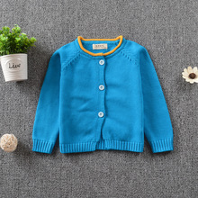 Latest casual children cardigan sweater spring/autumn/winter 100% cotton knitted high-quality kids boys&girls clothes