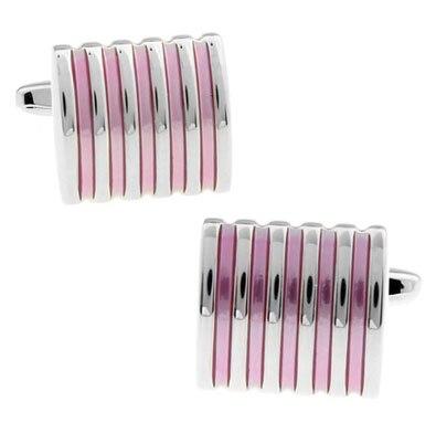 Envío libre rosado al por mayor y al por menor moda esmalte rayas diseño  calidad latón material mejor regalo para los hombres 807b4791ac5