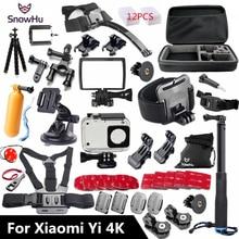Snowhu для Xiaomi Yi 4 К Аксессуары Монопод стик Осьминог штатив для Xiaomi Yi 4 К Yi2 действия международных Камера 2 II GS27