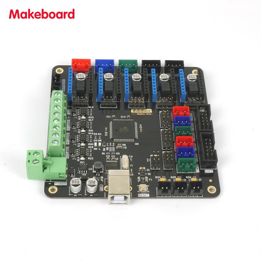 Micromake 3d Printer Parts Makeboard Pro Main Board Flexiblecircuitboards3dprinted1jpg Support Heatbed Compatible With Ramps 14 In Accessories From Computer