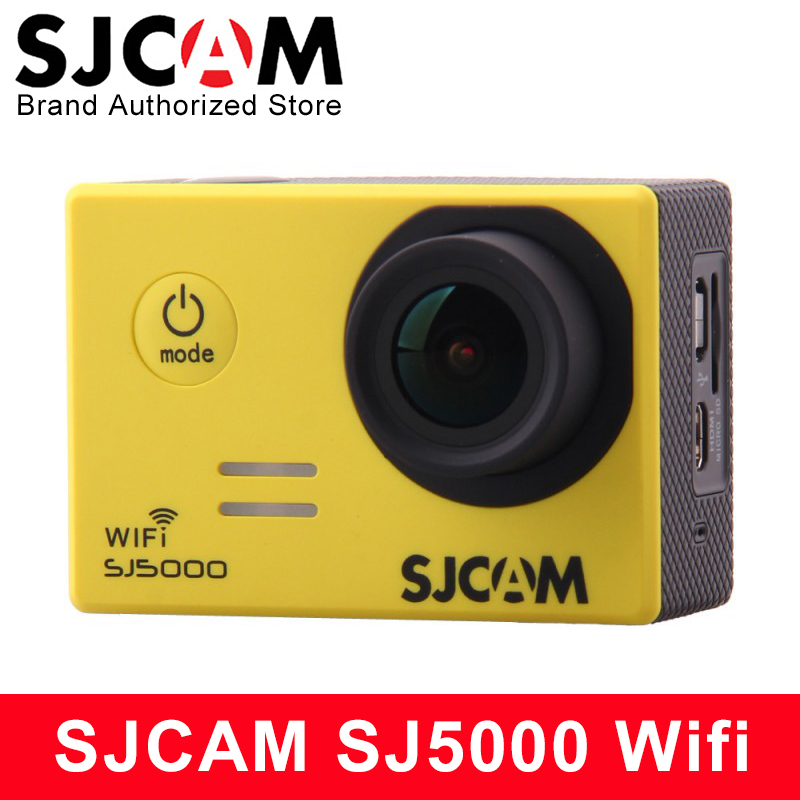 sjcam sj5000 plus ambarella a7ls75 sport camera Original SJCAM SJ5000 WIFI Action Camera Waterproof Camera SJ5000 WIFI Novatek 96655 1080P Full HD Camera Sport DV Car DVR