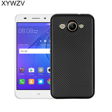 XYWZV For Huawei Y3 2017 Case Soft TPU Silicon Phone Case For Y5 lite 2017 Cover For Huawei Y3 2017 Case CRO-L22 5.0 Fundas