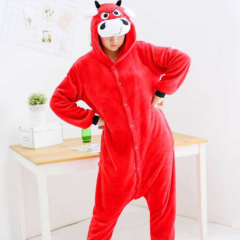 חג המולד פיג 'מה סטיץ סלעית סרבל תינוקות בעלי החיים הלבשת למבוגרים נשים חורף משפחת התאמת תלבושות