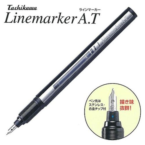 Japan TACHIKAWA A.T Hand Drawn Fountain Pen Alloy Nib Artist Class Top Comics Tool 1PCS italic nib art fountain pen arabic calligraphy black pen line width 1 1mm to 3 0mm