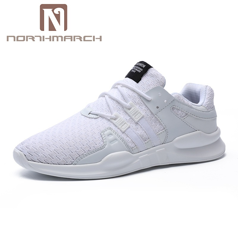 NORTHMARCH Mens Fashion Lightweight Sneakers Men Lace-Up Breathable Mens Shoes Casual Footwear Zapatillas Hombre Big Size 39-48 gilaugh fashion patchwork simple style suede men shoes lace up casual leather shoes zapatillas hombre big size 38 50