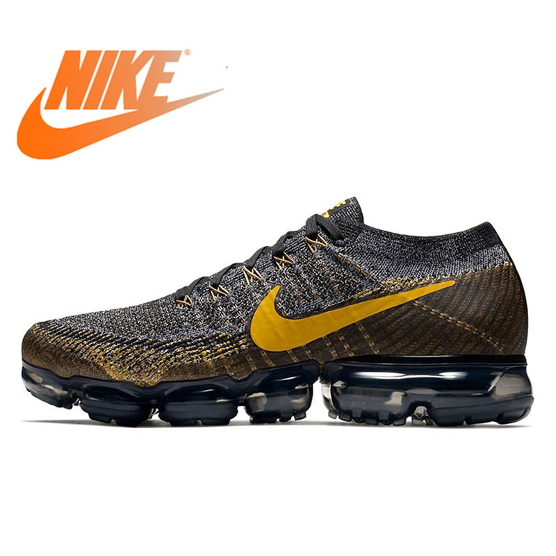 Original Authentic Nike Air VaporMax Mens Running Shoes Classic Sports Outdoor Sports Shoes Breathable Comfort 849558-009Original Authentic Nike Air VaporMax Mens Running Shoes Classic Sports Outdoor Sports Shoes Breathable Comfort 849558-009