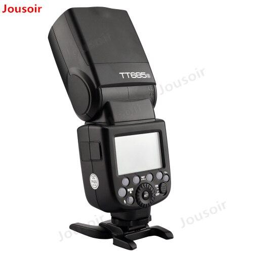 Godox TT685S 2.4G HSS 1/8000 s i-ttl GN60 Sans Fil Flash Speedlite pour S A77II A7RII A7R A58 A9 A99 A6300 A6500 CD50Godox TT685S 2.4G HSS 1/8000 s i-ttl GN60 Sans Fil Flash Speedlite pour S A77II A7RII A7R A58 A9 A99 A6300 A6500 CD50
