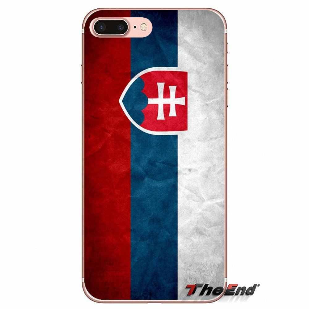 quality design 07515 7b500 Designer Case For Huawei Honor 7X V10 6C V9 6A Play 9 Mate 10 Pro Y7 Y5 P8  P10 Lite Plus GR5 2017 SK Slovak Slovakia Flag Banner