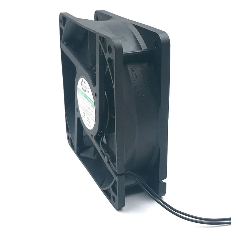 Ec motor cooling fan 220V 110V 230V 115V SXDOOL SXDE12038HB 120mm 12038 12V 3500RPM 147.6CFM axial cooler 3