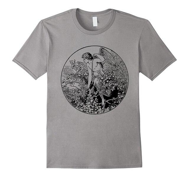 6ced0dfa2 Cheap Graphic T Shirts Short Sleeve O Neck Eros T Shirt Greek Mythology  Ancient Greece Graphic Tee Men Tees