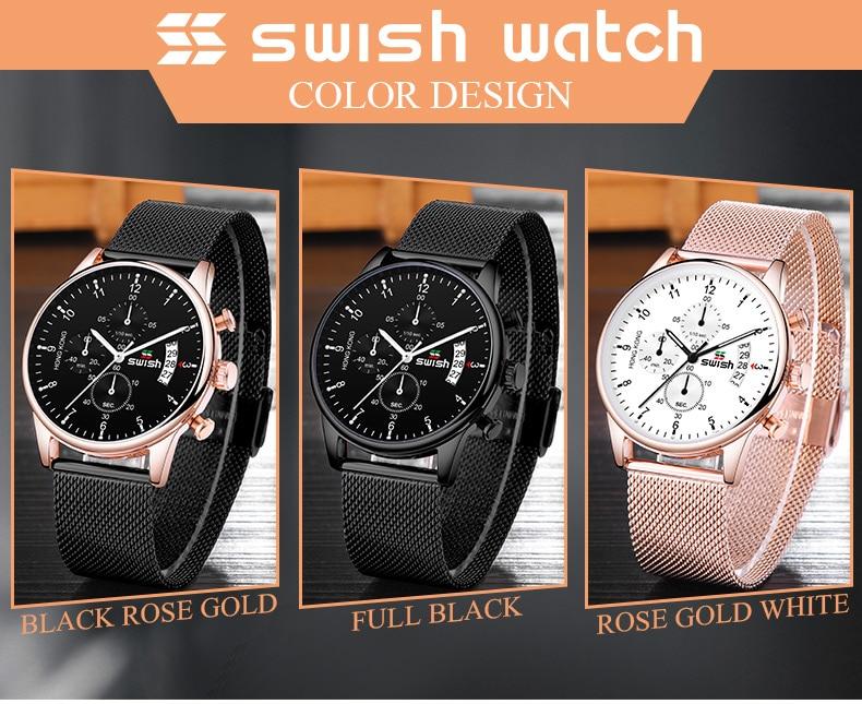 HTB1JjlHUNnaK1RjSZFtq6zC2VXaL SWISH 2019 Top Brand Luxury Mens Watches Waterproof Stainless Steel Wristwatch Mens Chronograph Casual Quartz Watch