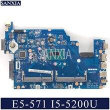 KEFU LA-B161P Laptop motherboard for Acer E5-571 E5-571P original mainboard I5-5200U