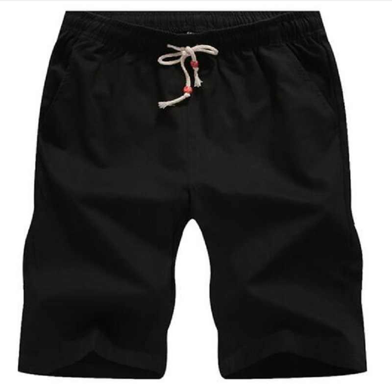 Hot 2020 nuovi pantaloncini casual estivi pantaloncini da uomo in cotone stile moda uomo Bermuda Beach shorts Plus Size 4XL 5XL Short uomo uomo
