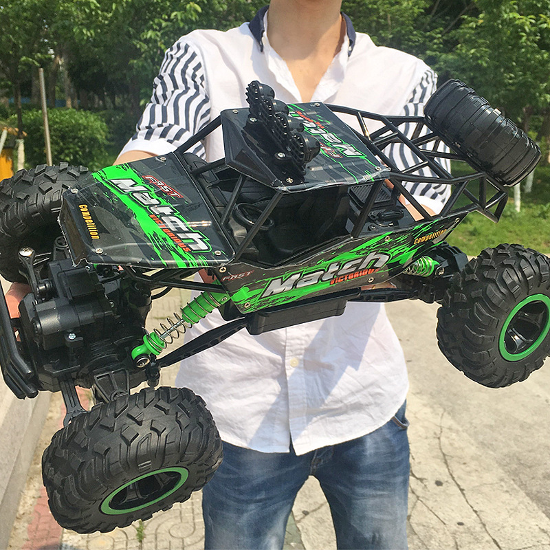 1:12 4WD Cars Updated Version 2.4GHZ Radio Control RC Trucks Toys Buggy 2018 High speed Trucks Off-Road Trucks Toys for Children large 1 12 4wd rc cars 2 4g radio control rc cars toys buggy high speed off road rock crawler monster trucks toys for children