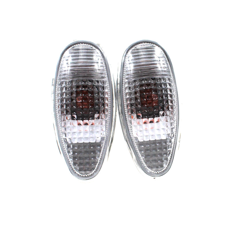 HARBLL 2PCS New Left&Right Side Marker Fender Lamp Light For Mitsubishi PAJERO MONTERO Lancer Outlander MR522027 new 2pcs female right left vivid foot mannequin jewerly display model art sketch