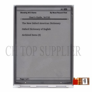 original PVI 6 inch ED060SCE ED060SCE(LF)T1 E-ink display for NOOK2 SONY PRS-T2 SONY PRS-T1 free shipping(China)