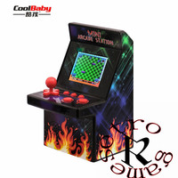 Mini Arcade Game Machine System Classic Version 2.5 LCD Screen Built in 200 Old Style Video Games Console Retro Gaming Player