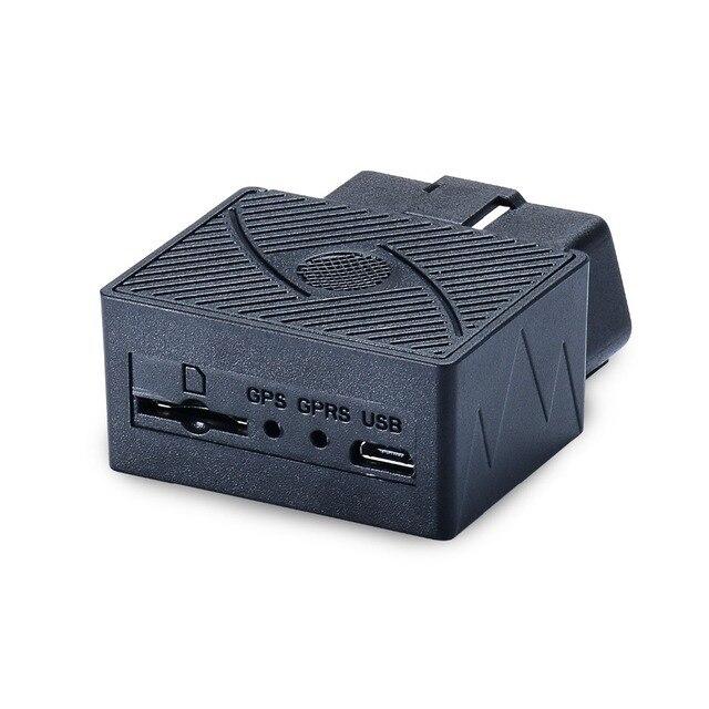 Mini Plug Play OBD GPS Tracker Car GSM OBDII Vehicle Tracking Device 2