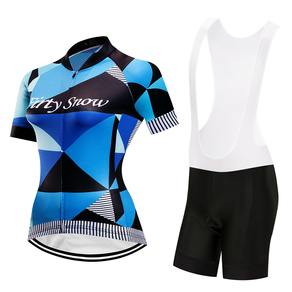 2018 Firty sonw Women Cycling Clothing Men Set Bike Clothing Breathable Anti-UV Bicycle Wear/Short Sleeve Cycling Jersey Sets