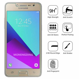 Image 1 - 2.5D Protective Tempered Glass On For Samsung J2 Pro 2018 Glass Screen Protector Film For Samsung Galaxy J2 Prime 2j J 2 Cover