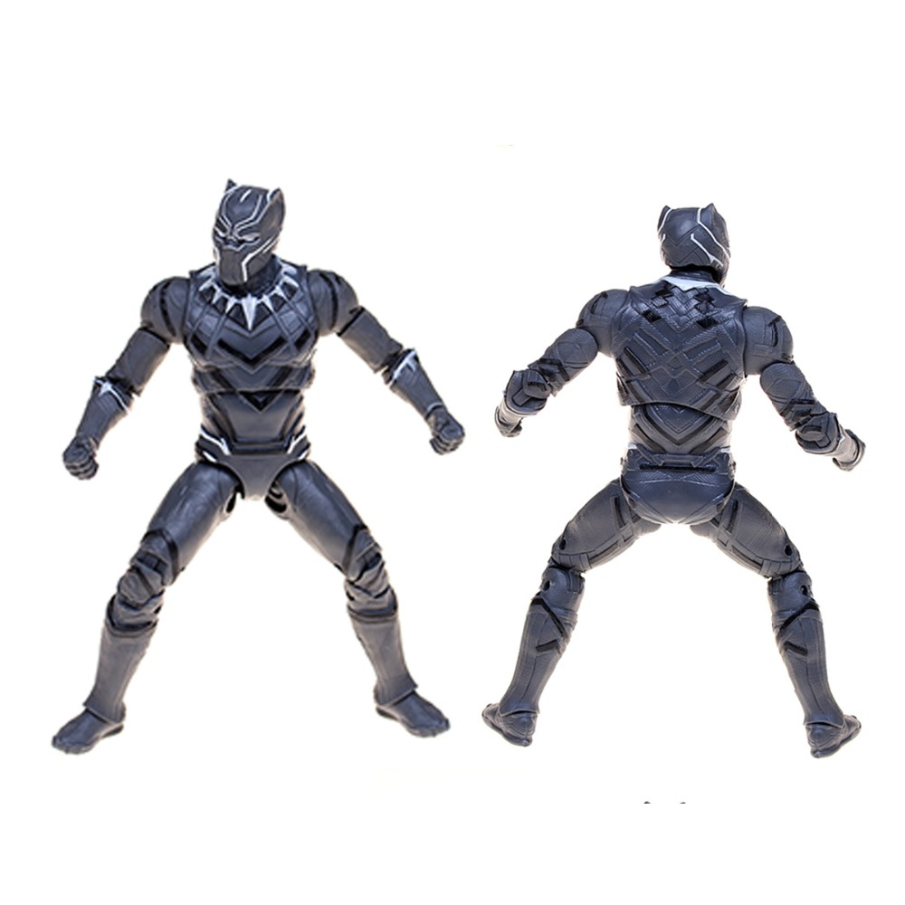Civil Protection Toys : Black panther movie civil war captain america action