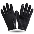 Winter Gloves 2016 Casual Windproof  Tactical Gloves Men Women Nylon Solid Touch Screen Gloves Bicycle Gloves