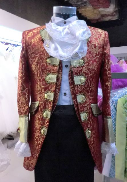New Fashion Men Royal Clothes (Jacket+Pants+Vest) Men's Slim Casual Formal Dress Male Jazz Stage Performance Embroidered Sutis