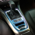 Venda quente Para O Peugeot 408 308 S painel central Etiqueta e caixa de velocidades Do Carro decoração Do Carro adesivo de carro car styling