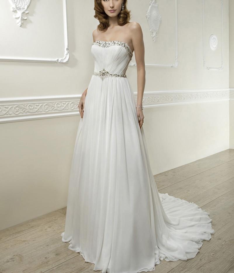 2016 Simple White Wedding Dresses Country Dress Weddings