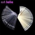 False Display Nail Art Fan Wheel Polish Practice board Tip Sticks Nail Art 50pcs Nail Polish / Nail Decoration Display