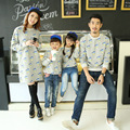 Casual família roupas roupas camisola mãe / mãe e filha roupas pai filho roupas combinando estilo familiar Set CP75