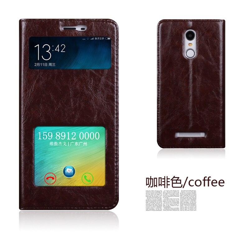 Цена за Оригинал aimak натуральная кожа смарт окно флип стенд cover case для xiaomi redmi note 3 note3 note 3 pro мешок мобильного телефона