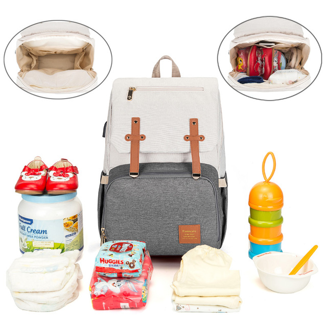 Baby Diaper Bags for Dads Moms Backpack Large Capacity Waterproof Nursing Bags Travel Stroller Bag Luxury Organizer For Twins 2