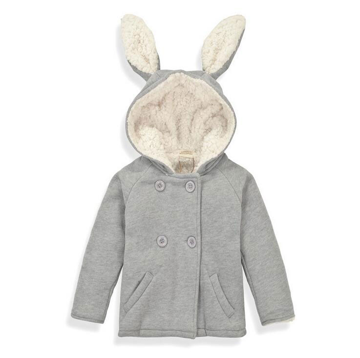 Soft Thicken Baby Outerwear Baby Boys Warm Coat Baby Girls Winter Jacket Kids 2016 New Cute Top Clothes