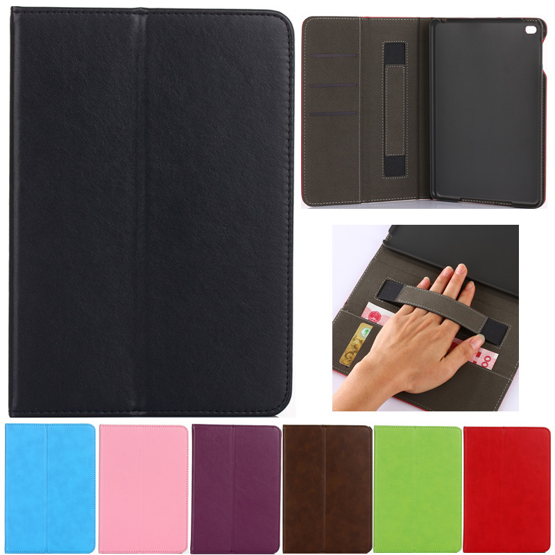 New Luxury Tablet case Cover For Apple ipad mini 4 PU Leather Flip Case Wallet Card Stand cover for ipad mini4 With Holder vintage leather multi function wallet card pocket zipper flip case cover for apple iphone 6 6s 4 7