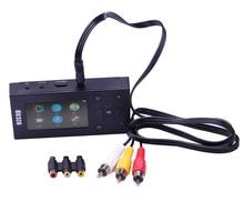ใหม่ CVBS AV Recorder เสียง Video Capture Converter VHS กล้องวิดีโอ DVD เทป CASSETTE TF Card Canbe 8G MP3 ผู้เล่น