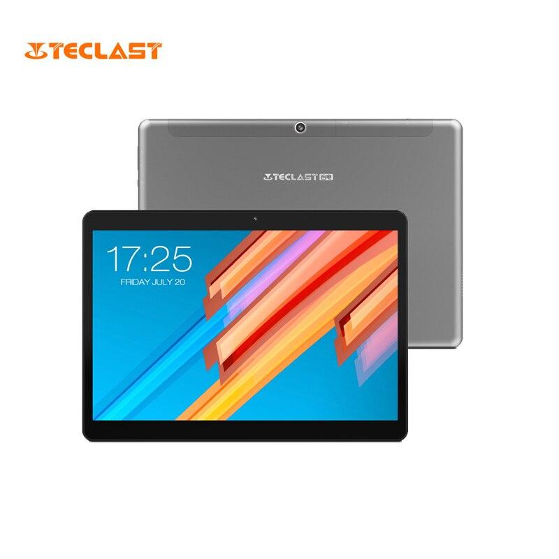10.1 pouce 2560*1600 Tablet PC Teclast M20 MT6797 X23 Deca Core Android 8.0 4 gb RAM 64 gb ROM Double 4g Téléphone Comprimés Double Wifi